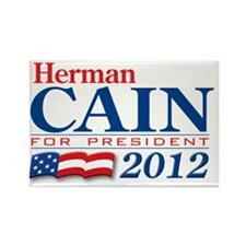 Herman-Cain2012 Rectangle Magnet