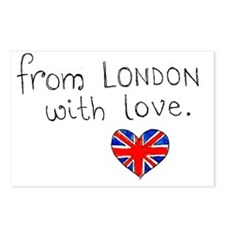 londonwithlove Postcards (Package of 8)