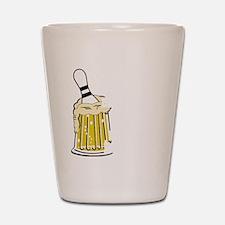 bowl55dark Shot Glass