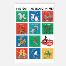 The Music Class Collectio Postcards (Package of 8)