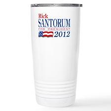 Santorum-2012 Travel Mug