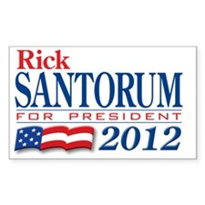 Santorum-2012 Decal