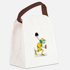 bowl67dark Canvas Lunch Bag