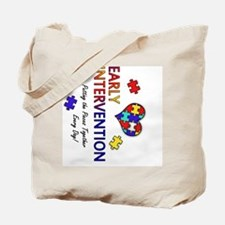 earlyintervention-button-rotated Tote Bag