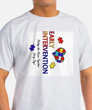 earlyintervention-button-rotated T-Shirt