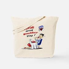 Steak and Knobber Day Logo Tote Bag