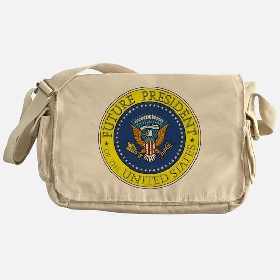 Future-President-6X6 Messenger Bag