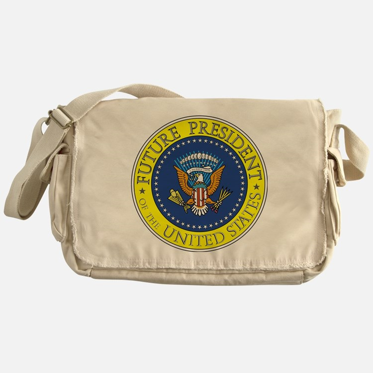 Future-President-6X6 Messenger Bag