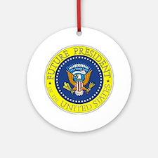 Future-President-6X6 Round Ornament