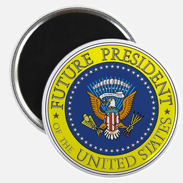 Future-President-6X6 Magnet
