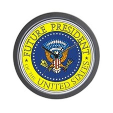 Future-President-6X6 Wall Clock