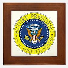 Future-President-6X6 Framed Tile