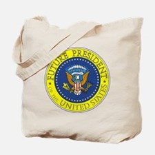Future-President-6X6 Tote Bag