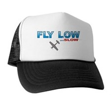 low and slow wht Trucker Hat