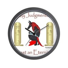 Anubis Judgment Wall Clock