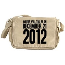 December 21 W Messenger Bag
