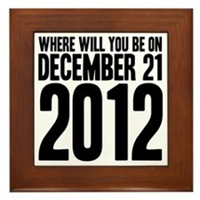 December 21 W Framed Tile
