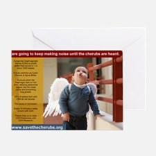 SaveTheCherubs-ArcePhotography-ArceJ Greeting Card