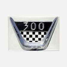 auto-1955-chrysler-300c-badge Rectangle Magnet