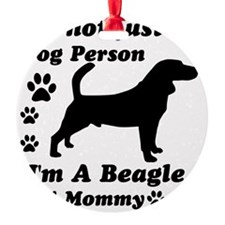 beagle_mommy Ornament