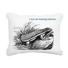 chlamyphorus_white Rectangular Canvas Pillow
