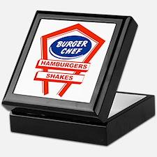 burger-chef-sign Keepsake Box