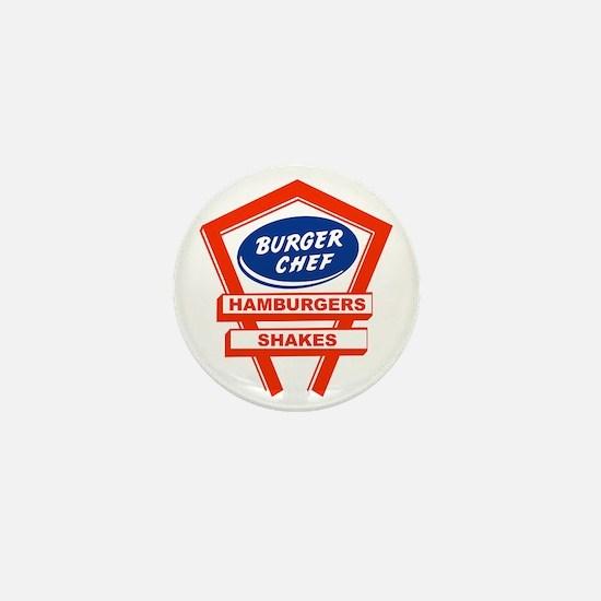 burger-chef-sign Mini Button