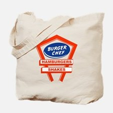 burger-chef-sign Tote Bag