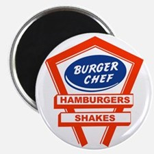 burger-chef-sign Magnet