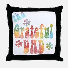 the_grateful_dad Throw Pillow