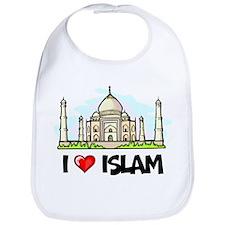 I Love Islam Bib