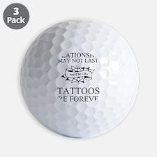 tattoo forever mother black 1 Golf Ball