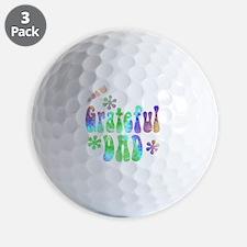the_grateful_dad_2 Golf Ball