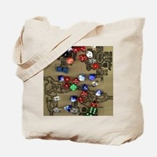 Dice and Dungeon Map Tote Bag
