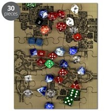 Dice and Dungeon Map Puzzle