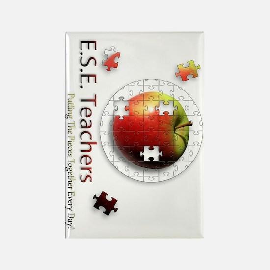 ESEteachers-rotated Rectangle Magnet
