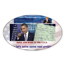 AD-Obama-Birth-Cert-solve-flag-lg Decal
