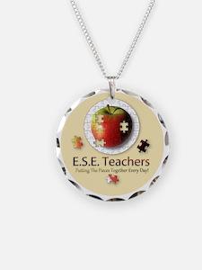 ESEteachers-button Necklace
