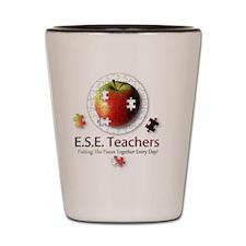 ESEteachers-button-nobg Shot Glass