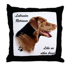 Lab Breed Throw Pillow
