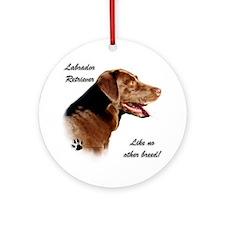 Lab Breed Ornament (Round)
