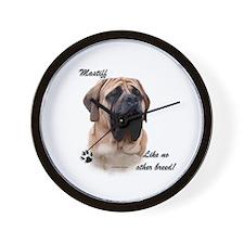 Mastiff Breed Wall Clock