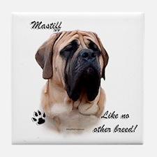 Mastiff Breed Tile Coaster