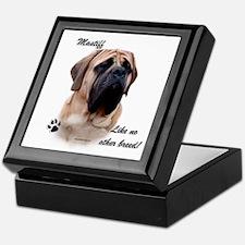 Mastiff Breed Keepsake Box