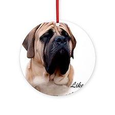 Mastiff Breed Ornament (Round)