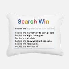 babies Rectangular Canvas Pillow