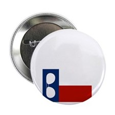 "ray_wylie_sunglassesflag_center 2.25"" Button"