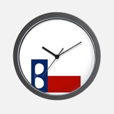 ray_wylie_sunglassesflag_center Wall Clock