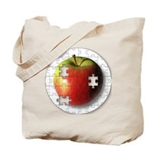 ESEteachersPuzzleApple Tote Bag