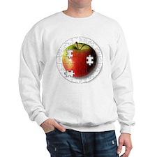 ESEteachersPuzzleApple Sweatshirt